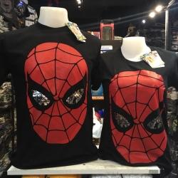 สไปเดอร์แมน สีดำ (Spiderman eye face CODE:0680)