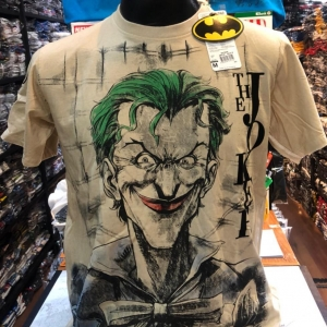 โจกเกอร์ สีครีม (Joker smile white CODE:1166)