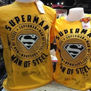 ซุปเปอร์แมน สีเหลือง (Superman yellow Man of Steel)