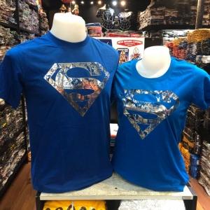 ซุปเปอร์แมน สีน้ำเงิน (Superman Comic blue)