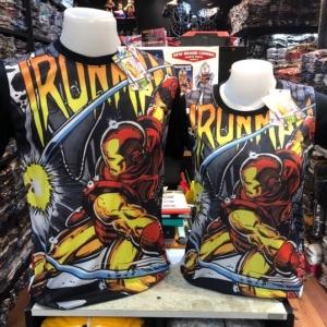 เสื้อไอรอนแมน (Ironman punch black arm)