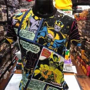 เสื้อมาร์เวล SCUBA (ฺThanos comic black CODE:1139)