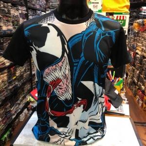 มาร์เวล ผ้า premium SCUBA (Venom black arm CODE:1130)