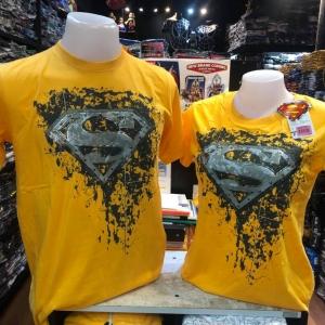 ซุปเปอร์แมน สีเหลือง (Superman logo washed Yellow)
