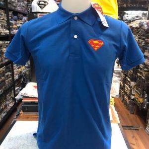 ซุปเปอร์แมน โปโล สีน้ำเงิน (Superman Polo Blue)