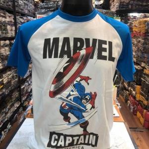 กัปตันอเมริกา สีขาว(Captain blue arm CODE:1150)