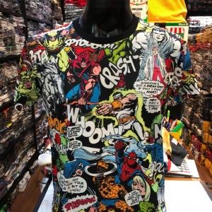 เสื้อมาร์เวล SCUBA (ฺMarvel comic all heroes CODE:1132)