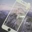 ฟิล์มกระจก iPhone7/8 Plus เต็มจอ (ขอบนิ่ม) สีขาว thumbnail 3
