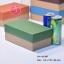 กล่องฝาครอบ ฝาสีต่างๆ ขนาด 11.6 x 19.5 x 8.0 ซม. ไม่มีหน้าต่าง thumbnail 2