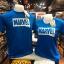 มาร์เวล สีน้ำเงิน (Marvel blue white logo CODE:1103) thumbnail 1
