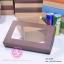 กล่องฝาครอบ ฝาสีต่างๆ ขนาด 16.0 x 25.3 x 8.0 ซม. มีหน้าต่าง thumbnail 6