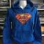 ซุปเปอร์แมน เสื้อกันหนาวฮู้ด (Superman blue CODE:0866) thumbnail 1
