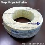 Phelps Dodge สายโทรศัพท์ แบบ 4 เส้น (4C) ขนาด 0.65 มิล ความยาว 100 เมตร (VAT)